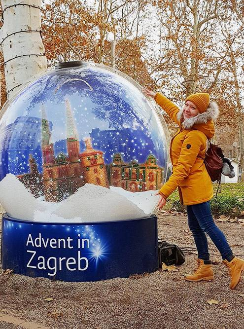 В Загребе в декабре нет снега, но адвент помогает ощутить Рождество