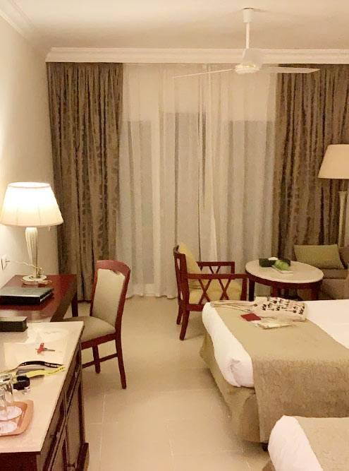 Мой номер. На «Букинге» номер в гостинице Baron Resort Sharm ElSheikh стоит около 50тысяч рублей за 9ночей