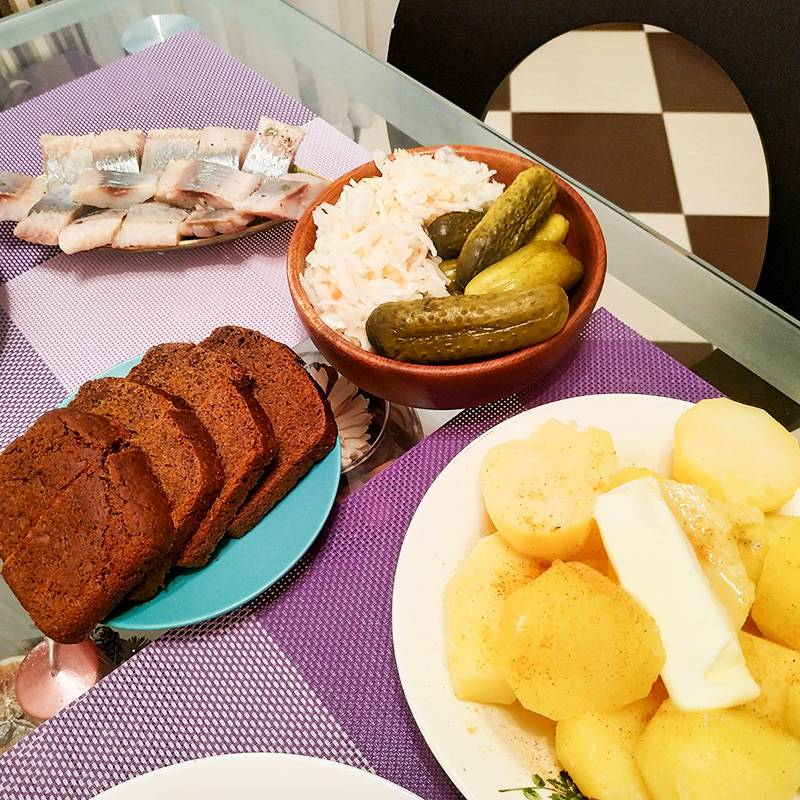 Крестьянский ужин