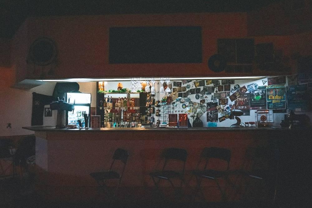 Так выглядел наш бар