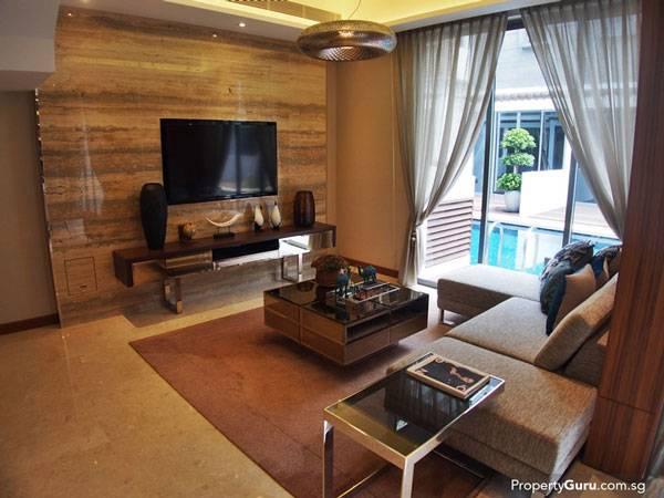 Конечно, можно снять квартиры и без мебели, но обычно меблировка такая. Источник: Propertyguru.com.sg