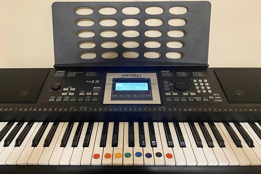 Мой синтезатор