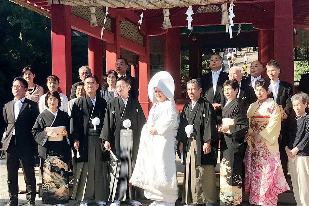 Свадьбы в Японии обычно проходят по традиционным обрядам, которым уже много веков