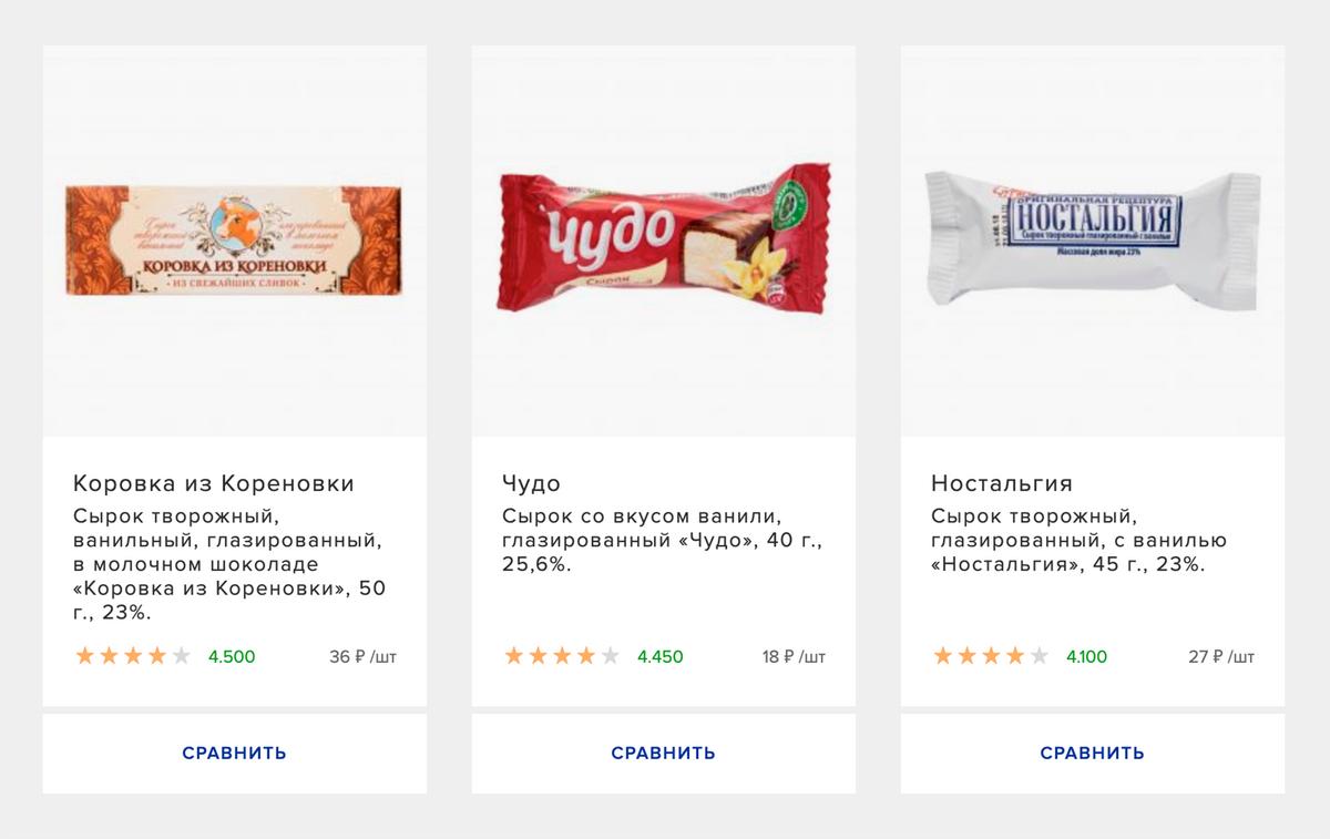 По названию не всегда понятно, к какой категории относится продукт, поэтому ищите информацию на упаковке. Если хотите продукт без растительных жиров и консервантов — выбирайте «творожный сырок»