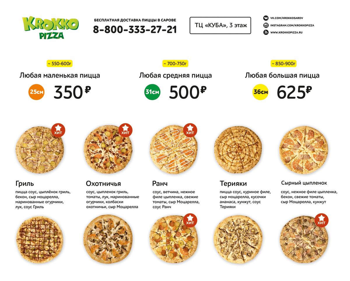 Сайт пиццерии заказали только через год работы. Он обошелся в 20 тысяч рублей. Сделать заказ через интернет нельзя — можно лишь ознакомиться с меню и узнать телефон пиццерии