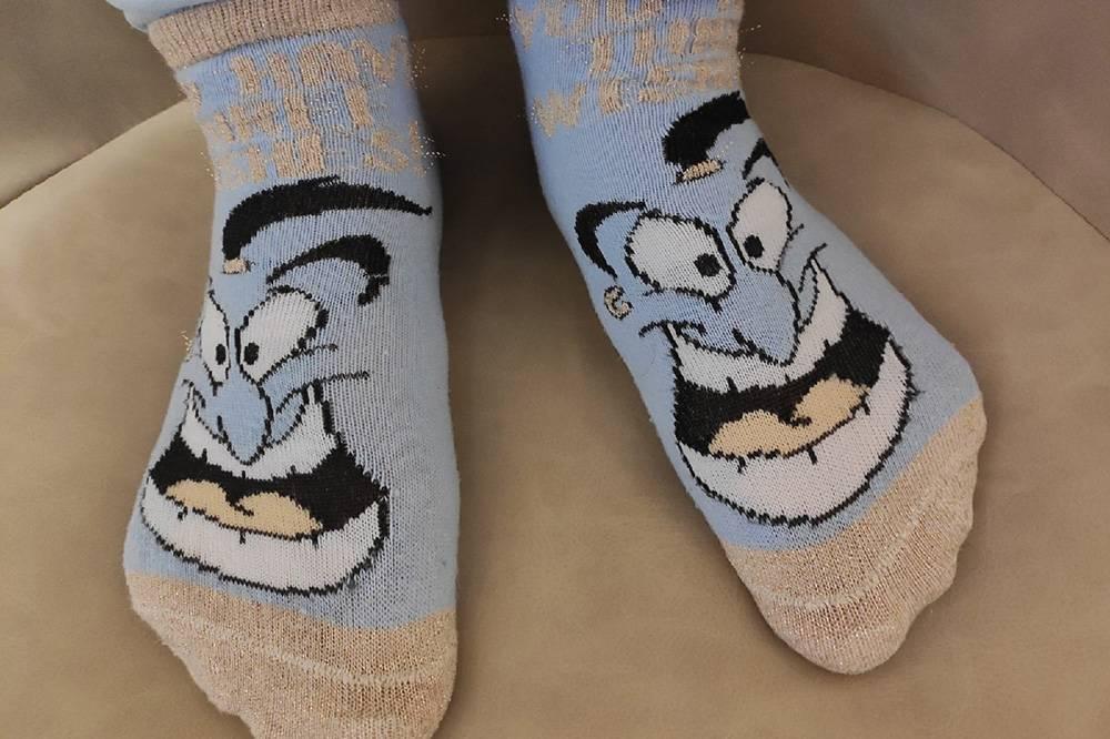 Мои носочки с Джинни
