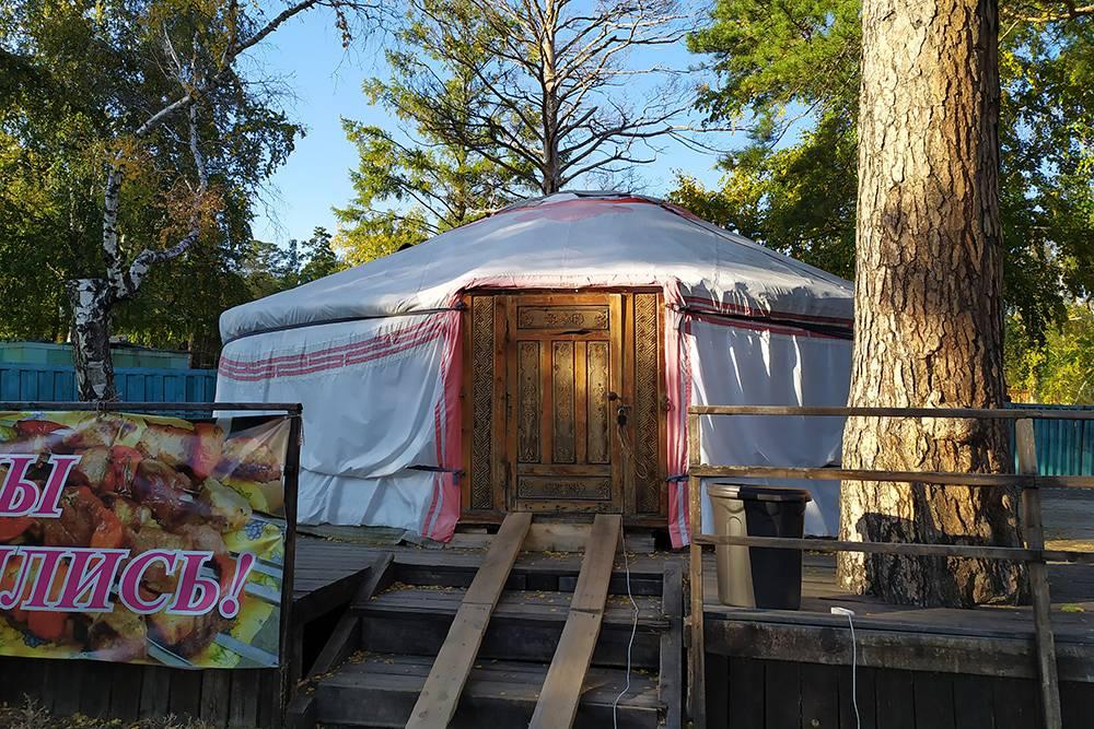 Традиционное бурятское жилище — юрта