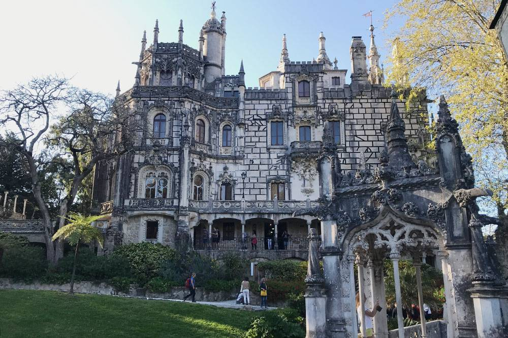 Дворец Quinta da Regaleira