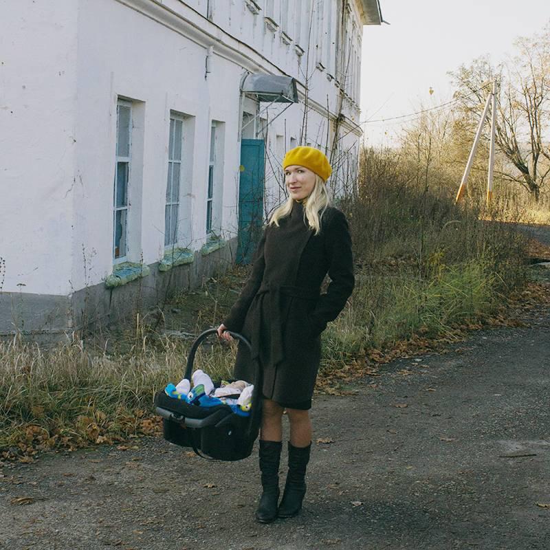 Первый раз мы поехали с сыном по Липецкой области, когда ему был месяц. Этобыла усадьба Кожиных в селе Репец Задонского района