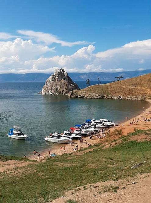 Это фотографии с острова Ольхон, где мы побывали в августе