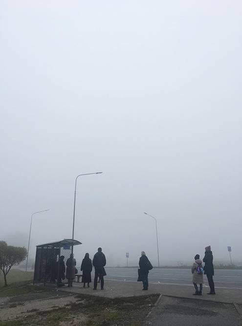Псков — город туманов