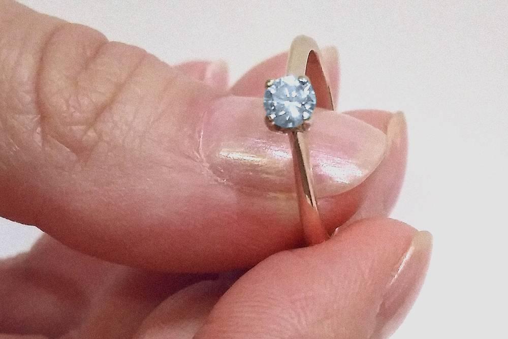 Кольцо, которое я подарил своей девушке