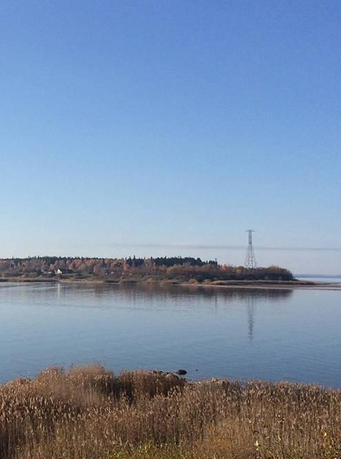 Вид на остров имени Белова