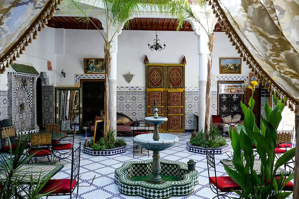 Так выглядит внутренний двор риада. Источник: FuGazi images / Shutterstock
