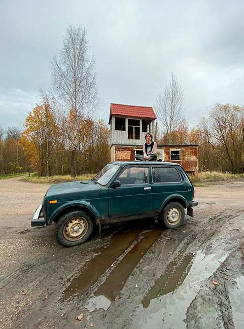 Небольшая фотосессия по пути в Латвию