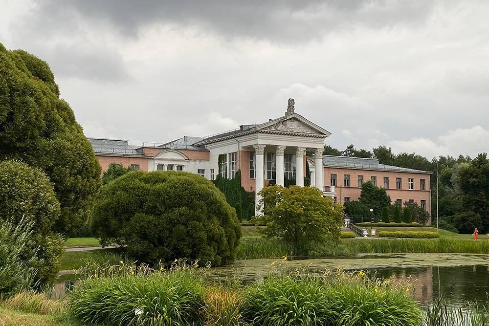 Мне нравится Ботанический сад. В детстве мы с мамой кормили на этом пруду уток, а теперь там еще и четыре лебедя: два белых и два черных