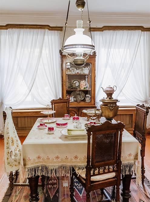 Мне очень понравилась столовая с оригинальным самоваром. Источник: Анастасия Губинская