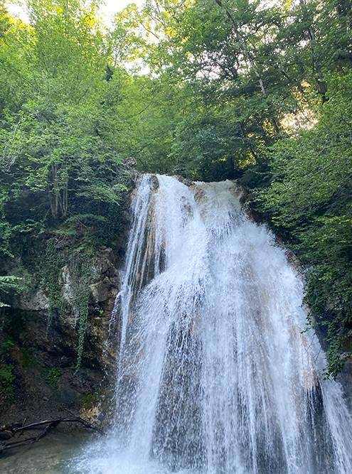 В 2021году мы увидели водопад с более мощными потоками
