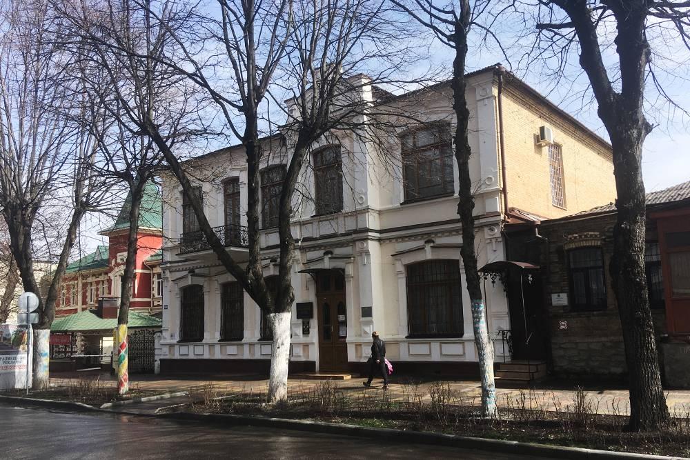 Здание музея — памятник архитектуры регионального значения