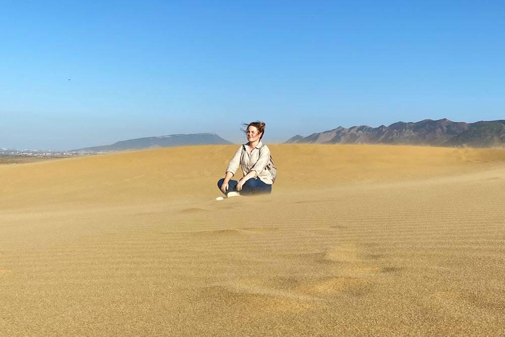 Здесь снимали фильм «Белое солнце пустыни»