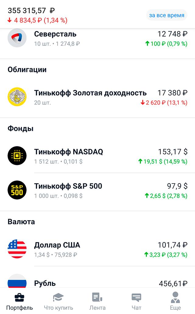 Не знаю, зачем влез в облигации фонда «Тинькофф Золото», думаю, что там мои деньги будут просто мариноваться три года