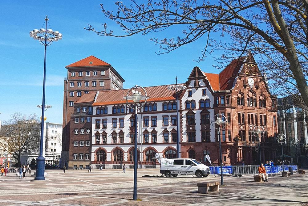 Ратуша в Дортмунде, где решают все вопросы с документами
