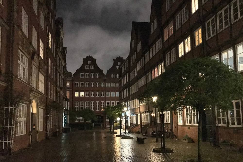 Петерштрассе — моя любимая улица в Гамбурге