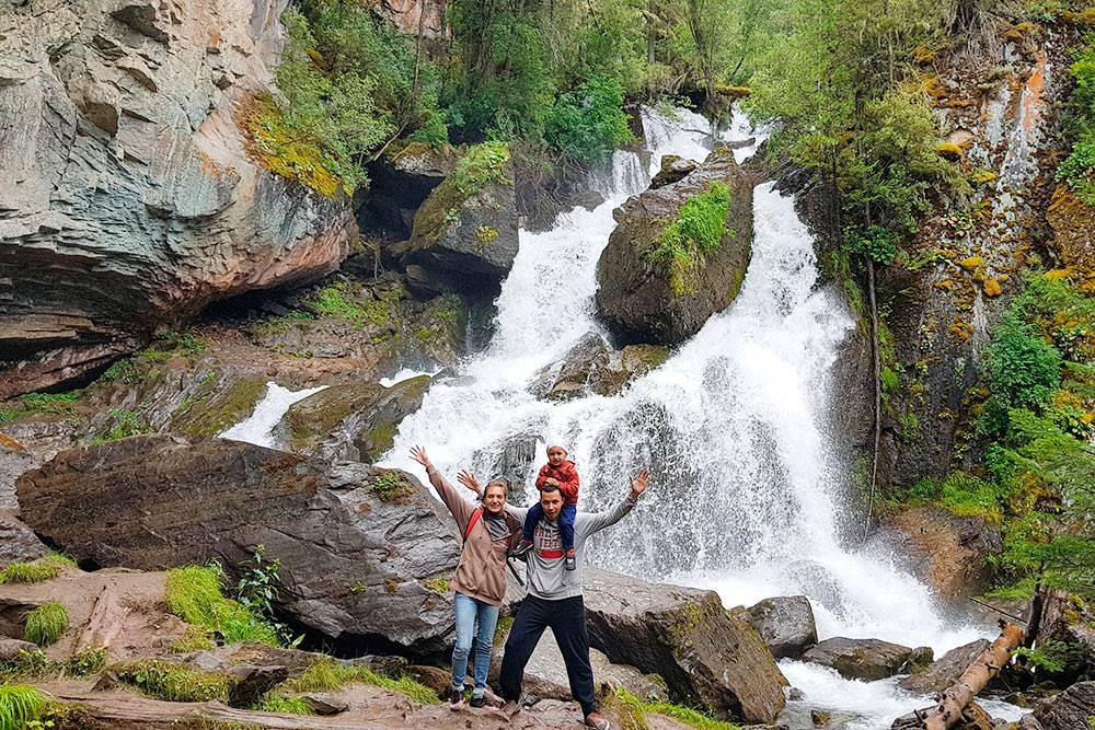 После Нижнего Карасу нас не впечатлил ни один водопад по Чуйскому тракту