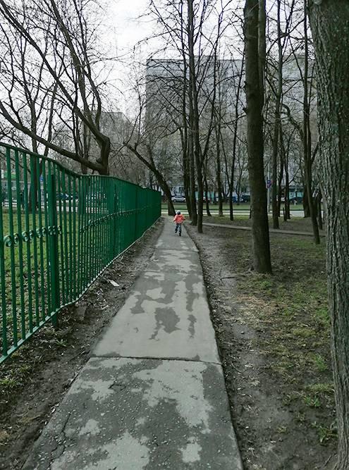 Дорога в детский сад