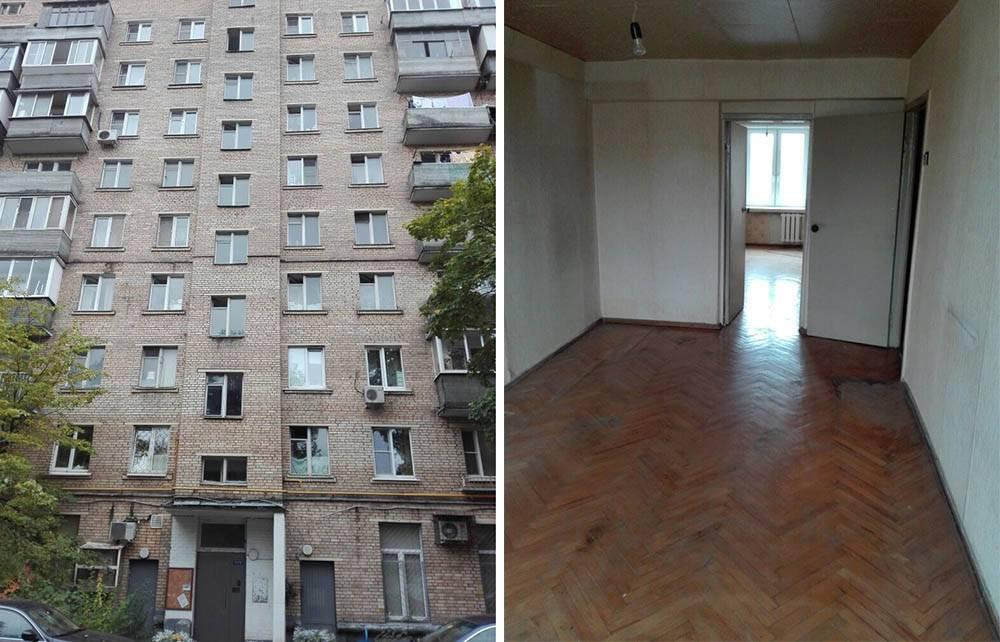 Трехкомнатная квартира на Сущевском Валу за 7,5 млн рублей