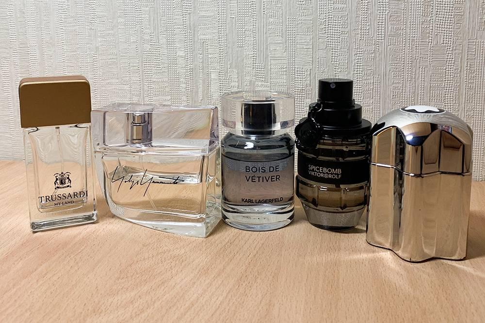 Моя скромная коллекция парфюма