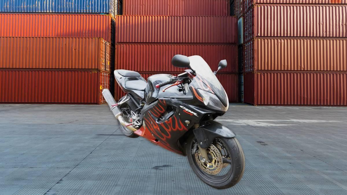 Как я покупал мотоцикл на страховом аукционе США