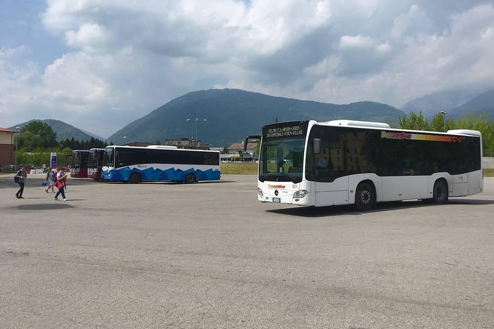 Автобусная станция в Фельтре