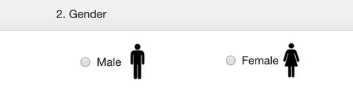 Выбор пола — женский или мужской