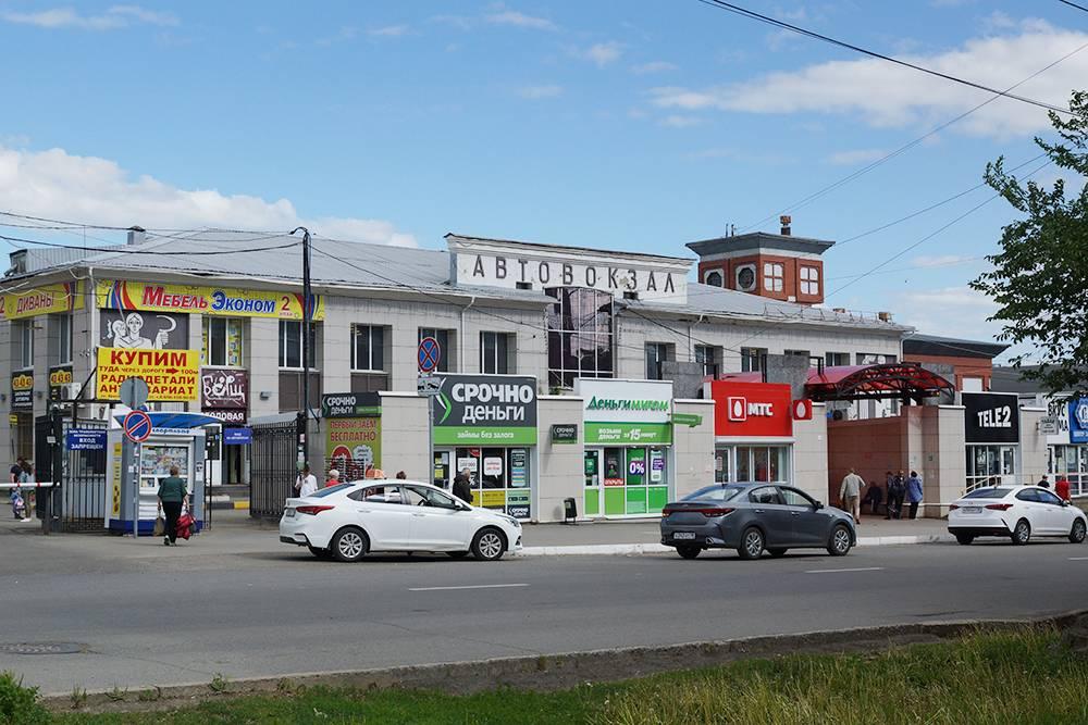 Автовокзал Ижевска, отсюда я часто уезжала домой в Воткинск