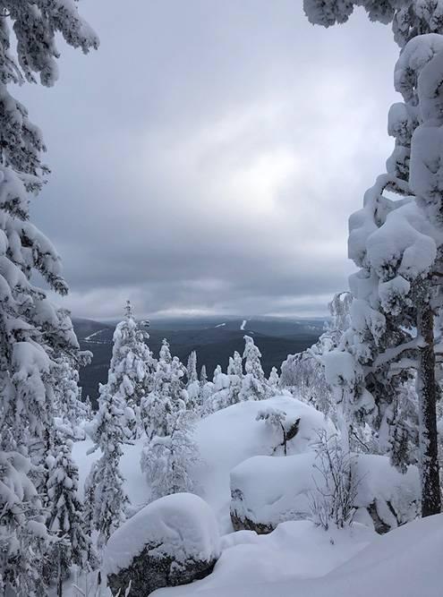 Гора Малиновая — маршрут для трекинга, популярный летом и зимой