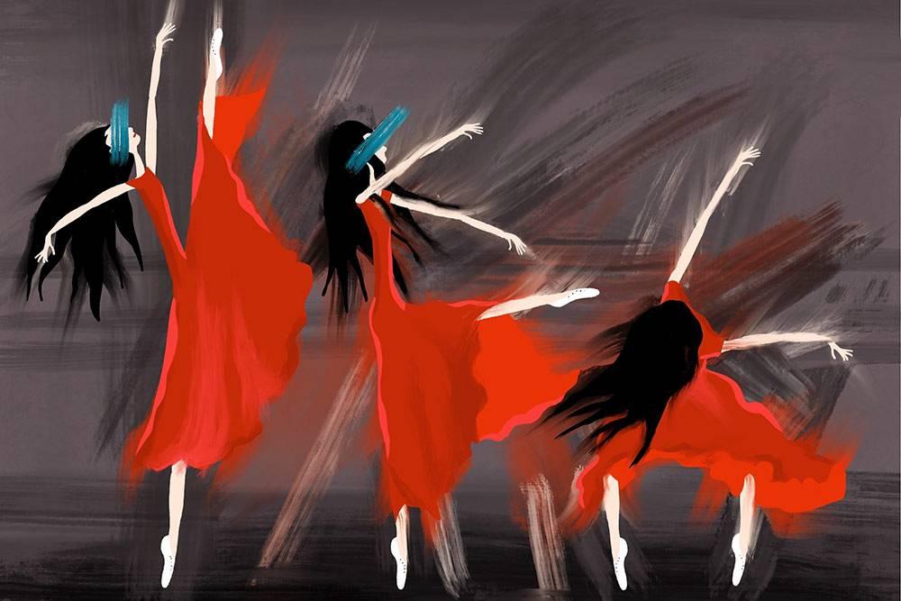 Моя иллюстрация наАйпаде