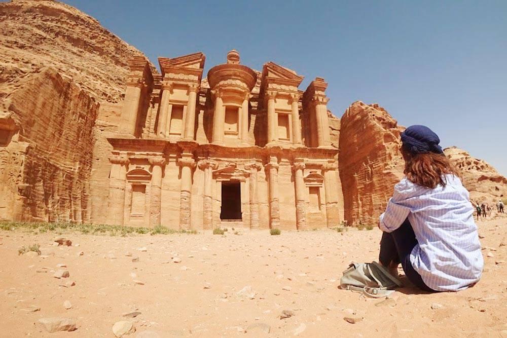 Монастырь Ад-Дэйр — самый большой резной монумент в Петре, построенный в первом веке нашей эры