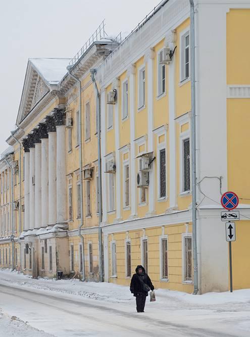 Вологодский государственный университет на Пречистенской набережной