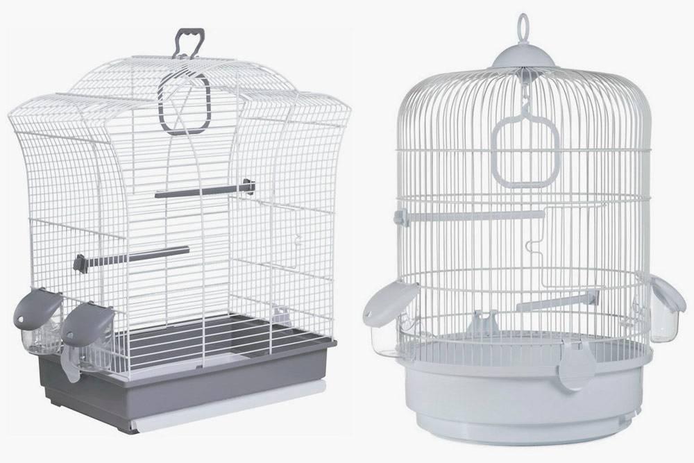 Я не рекомендую круглые и фигурные клетки: попугаю в них некомфортно. Источник: samizoo.ru