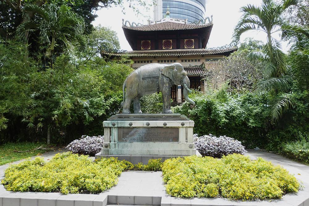 Зоопарк и ботанический сад Хошимина основаны в 1864 году