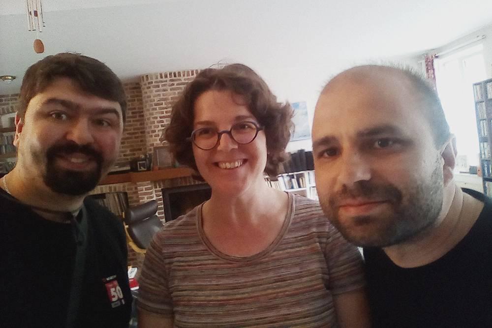 Мы познакомились с Рафаэль на «Каучсерфинге» и провели две ночи в ее доме в Лилле