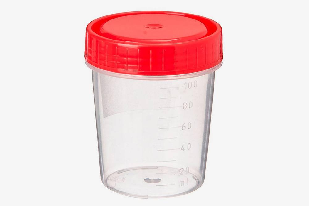 Для сбора спермы подойдет любой прозрачный градуированный контейнер сзавинчивающейся крышкой