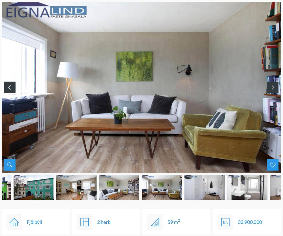 Объявление о продаже квартиры