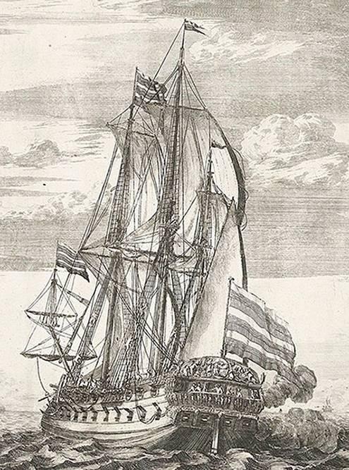 «Гото Предестинация» на гравюре Адриана Шхонебека, 1701год. Источник:museum-vrn.ru