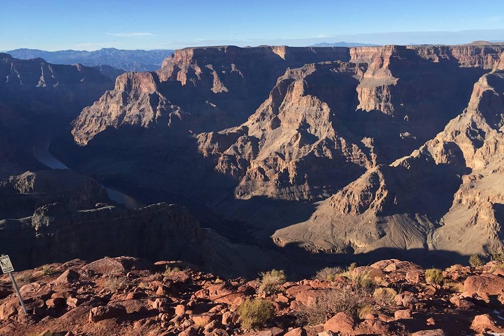 Пейзажи каньона
