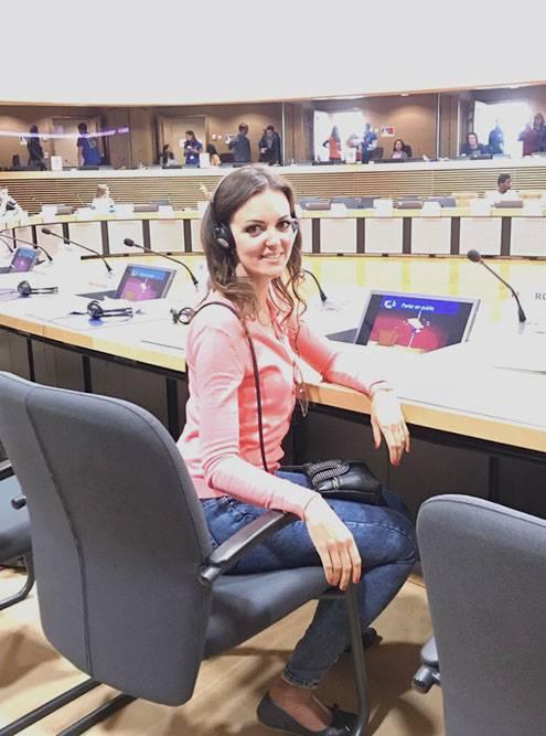 В здании Европейской комиссии