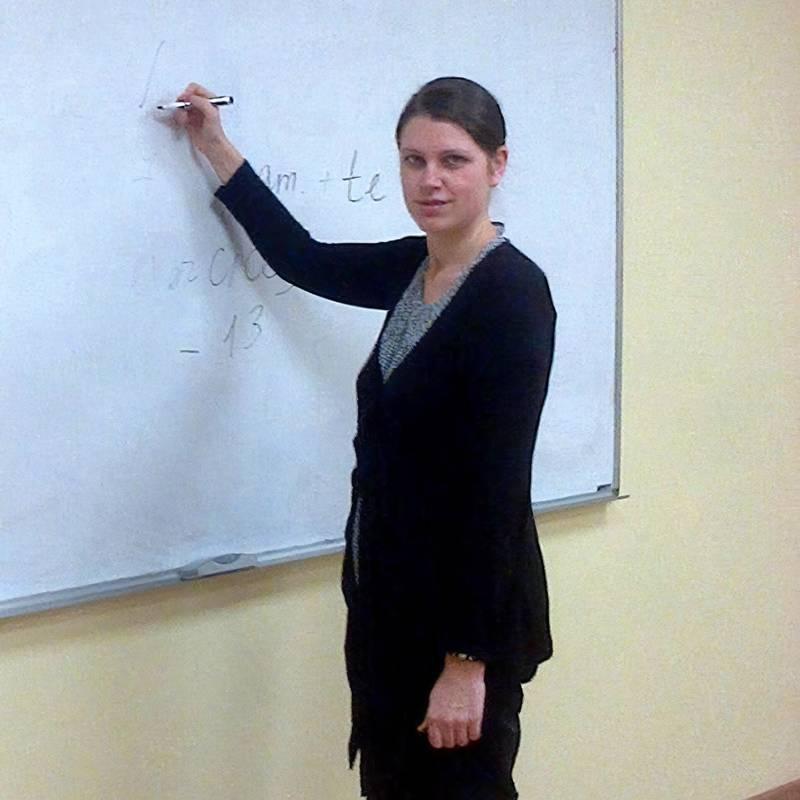 Я в аудитории на «Белорусской»