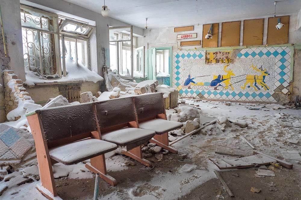 Заброшенный колледж в Воркуте