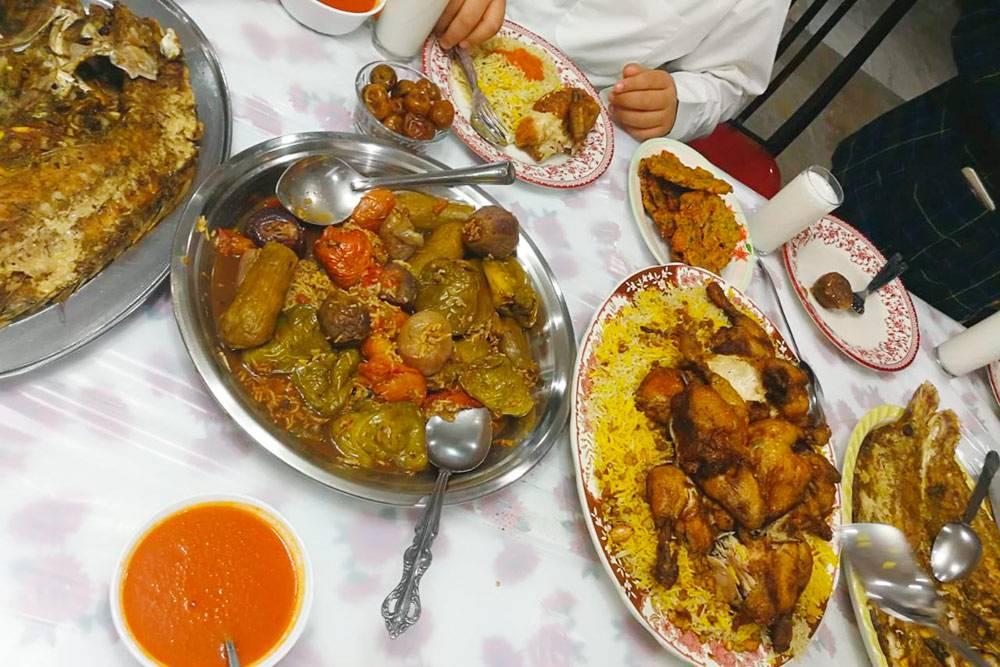 Овощи, фаршированные рисом, по кувейтскому рецепту